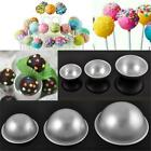 Aluminum Ball Sphere Kitchen Bath Bomb Mould Pastry Cake Baking Mold Decor LA