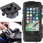 Motorcycle Fork Stem Yoke Bike Mount with Waterproof Tough Case for iPhone 7 4.7