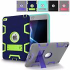 For Apple iPad Mini 4 Shockproof Heavy Duty Kickstand Case Cover Screen Guard