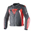 Dainese Avro D1 Leather Jacket Black Red White Motorcycle Jacket NEW RRP £449.95