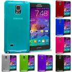 samsung note 4 accessories - For Samsung Galaxy Note 4 TPU Transparent Rubber Skin Cover Case Accessory