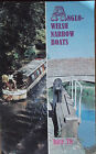 ANGLO-WELSH NARROW BOATS HIRE 78/ROSES & CASTLES - 2 x PB Books