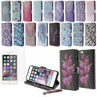 """For Apple Iphone 6 Plus/6s Plus 5.5"""" Magnetic Stand Wallet Cover Case + Screen"""