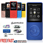 mp3 players 8gb - AGPtEK Mini MP3 Lossless Sound Music Player 8GB 70 Hours Playback  Black/White