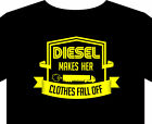 Trucker T Shirt up to 5XL diesel truck Scania Mack Volvo Toyota funny gift