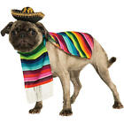 Mexican Poncho And Sombrero Pet Dog Halloween Costume