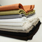 WASHED 100% LINEN FABRIC - RUSTIC COLLECTION - 140CM  DRESSMAKING FREE POSTAGE