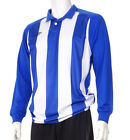 Umbro 'Clifton' Men's Football Shirt Royal Blue & White Stripes (Sizes L/XL)