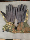 German Army Leather Cold Wet Weather Gore-Tex Membrane Gloves