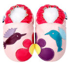 Girl Baby Shoes Infant Toddler Soft Sole Newborn Gift Moccasin Booties 0 - 3Y