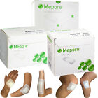 Mepore self adhesive first aid surgical fabric wound dressing Pick Size & Qty