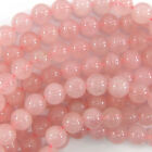 Rose Quartz Round Beads Gemstone 15