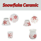 Yankee Candle Snowflake Ceramic Accessories Range You Choose FREE P+P