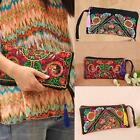 New Womens Lady Clutch Bag Handbag Mini Purse Wrist Strap Wallet Phone Bag Q2S1