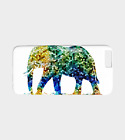 Phone Case for Iphone Samsung Galaxy Design 36 mosaic elephant art L.Dumas