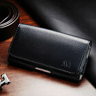 Executive Business Cell Phone Clip Pouch Holder Belt Loop Case Black Gray