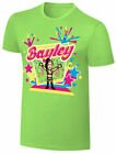 WWE NERDS BAYLEY We Want Some Bayley OFFICIAL CARTOON T-SHIRT