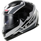 LS2 FF320 Full Face Helmet STREAM OMEGA WHITE BLACK TITANIUM