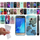 "For Samsung Galaxy J1 Mini Prime J106 4"" Design TPU SILICONE Case Cover + Pen"
