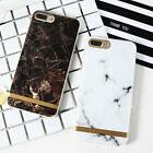 Fashion Marble Skin Case Thin Soft TPU Protective Cover for iPhone 7 7 Plus