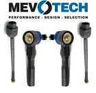 For Chevy Oldsmobile Potniac Pair Set of 2 Inner & Outer Tie Rod Ends Mevotech