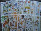 Provo Craft Stickers Month Dogs Cats Fishing Dinosaurs Christmas November School