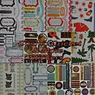 Cosmo Cricket ++ Scrapbooking Embellishment Stickers Your Choice Love ++