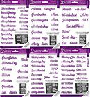 CRAFTERS COMPANION Diesire Essential Words Bundles FREE UK P&P Die'sire