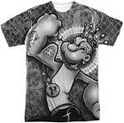 Popeye Spinach King Sublimation Short Sleeve Men's T-Shirt S-3XL