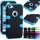 Hybrid Rugged Rubber Matte Hard Case Cover Protective Skin For iPhone 5C 5S 6S 7
