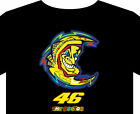 Rossi T shirt up to 5XL the doctor 43 biker motorcycle racing classic bike