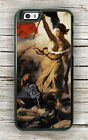 LIBERTY LEADING THE PEOPLE BY DELACROIX CASE FOR iPHONE 7 or 7 PLUS -ghj6Z