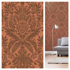 Crown Signature - Copper Damask Wallpaper - Dramatic Feature Wall Decor - M1113