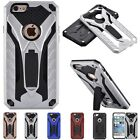 Rugged Armor Hybrid PC+TPU Silicone Stand Back Case Cover For iPhone 6 6S Plus