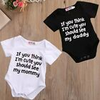 Toddler Infant Kids Baby Girl Cotton Romper Jumpsuit Bodysuit Clothes Outfit US