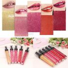 Fashion Makeup Shimmer Long Lasting Lip Lip Glaze Lipstick Gloss B20E