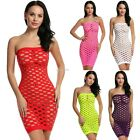 Women Sexy Lingerie Dress Strapless Hollow Stretchy Sleepwear Nightwear B20E