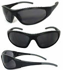 Bifocal Riding Motorcycle Saftey Glass Sunglasses Sun Readers w/ Rubber Pad RE66