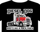 Trucker T Shirt up to 5XL Mack truck diesel sleeper cab trailer driver handbook