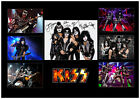 KISS SIGNED QUALITY CUSTOM DESIGNED MUSIC PHOTO COLLAGE SIMMONS STANLEY CRISS