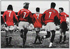 MANCHESTER UNITED FC LEGENDS EPL SOCCER QUALITY PHOTO COLLAGE