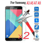 9H+ Tempered Glass Screen Protector Film For Samsung Galaxy A3 A5 A7 2016/2017