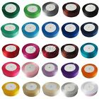 "25 Yards 1"" 25mm Satin Ribbon Craft DIY Bow Wedding Party Car Decor Many Colors"