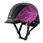 Внешний вид - TROXEL NEW 2017 SPIRIT PURPLE BOHO SAFETY RIDING HELMET LOW PROFILE HORSE CHILD
