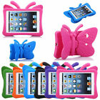 3D Cute Butterfly Shockproof EVA Foam Stand Cover Case for iPad 2 3 4 Mini 1/2/3