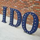 "Huge 30"" I DO Marquee Sign Light Wedding Party Bride Reception Decor - 23 COLORS"