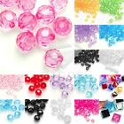 23 Styles Acrylic Beads Assorted Colors Transparent Jewelry Spacer Translucent