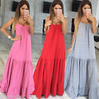 New Women Hippie Boho Summer Evening Cocktail Party Beach Long Maxi Dress