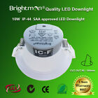 10W DIMMABLE LED DOWNLIGHT KIT 90mm IC-F IP44 SAA WARM/NATURE WHITE