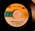 FLAMINGOS~Nobody Loves Me Like You Do 60s NORTHERN SOUL/POPCORN 45 END Hear